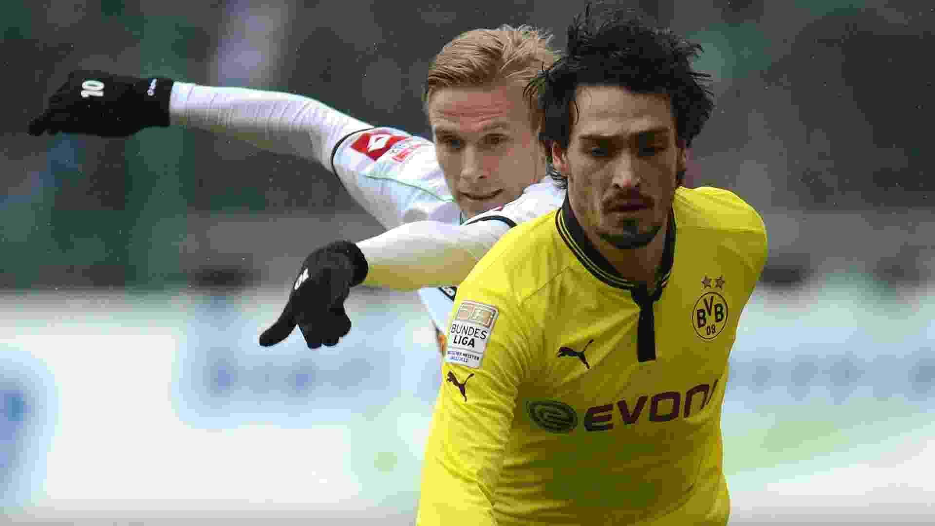 Mats Hummels, zagueiro do Borussia Dortmund - AFP PHOTO /PATRIK STOLLARZ
