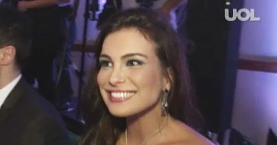 6.abr.2013 - Kamilla Salgado, Miss Brasil World 2010 e ex-BBB, foi entrevistada pelo UOL Tabloide. Ela faz parte do júri do concurso