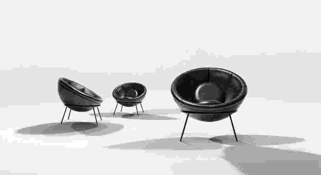 """A Arper apresenta uma edição limitada e comemorativa da cadeira """"Bowl"""", desenhada em 1951 pela arquiteta ítalo-brasileira Lina Bo Bardi e nunca produzida industrialmente - Divulgação"""