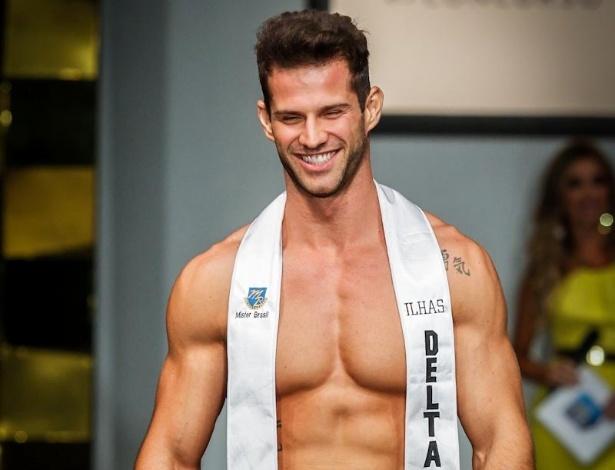 Com 1,80, o novo Mister vai representar o Brasil em concursos internacionais como o Mister Mundo