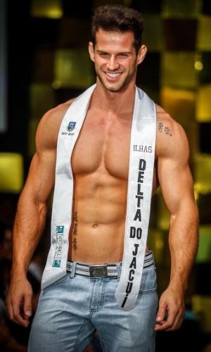 O Mister Brasil 2013, Reinaldo Dalcin, tem 27 anos