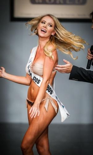 6.abr.2013 - Final do Miss Brasil World 2013 sancler