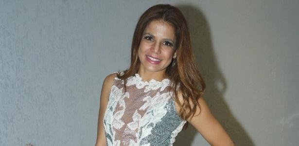 6.abr.2013 - Nivea Stelmann comemora seus 39 anos em uma casa de festas na Barra da Tijuca, Rio de Janeiro