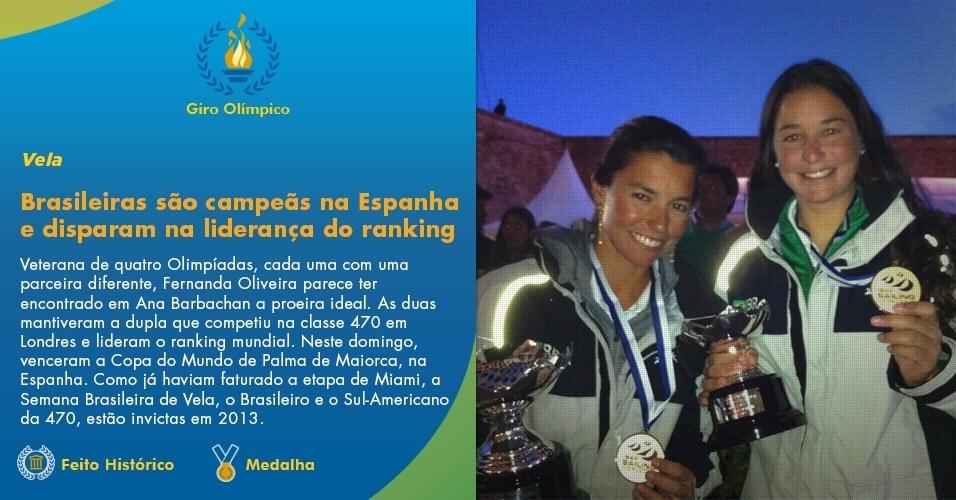 Brasileiras são campeãs na Copa do Mundo e disparam na liderança do ranking mundial
