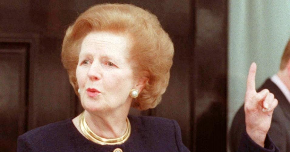 8.abr.2013 - A ex-primeira-ministra britânica Margareth Thatcher morreu nesta segunda-feira (8) aos 87 anos, em decorrência de um derrame cerebral