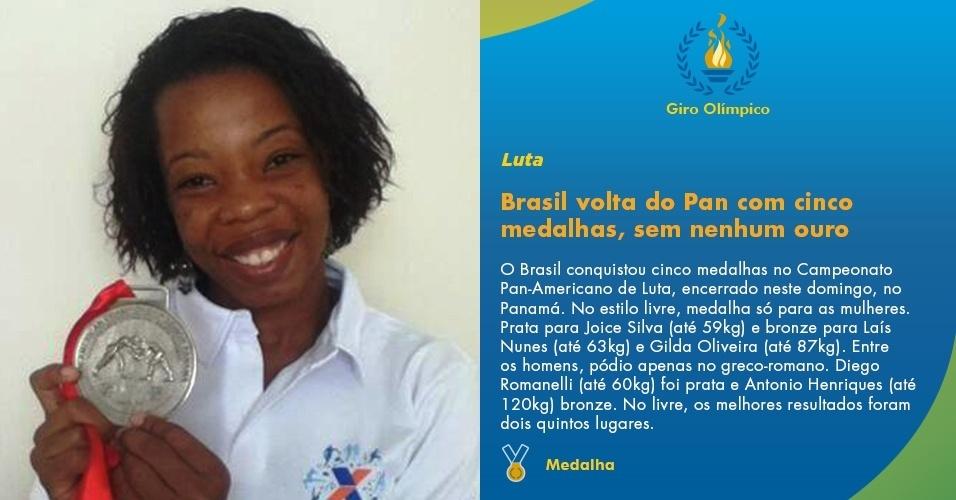 Brasil volta do Pan com cinco medalhas, sem nenhum ouro