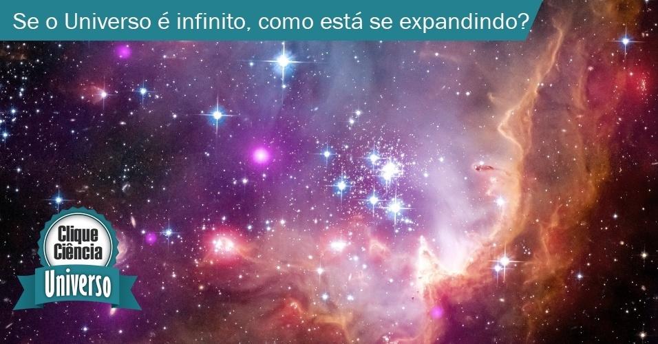 Clique ciência: se o Universo é infinito, como ele está se expandindo?