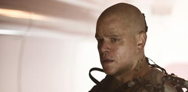 Matt Damon em cena do filme
