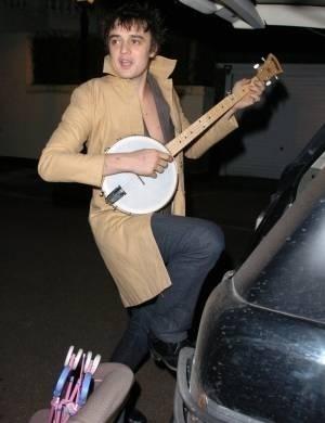 O músico Pete Doherty foi internado em 2007 por uso de cocaína