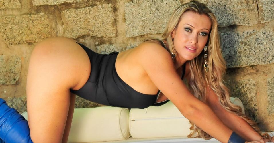 Rochelle Michielin vai representar o Figueirense no Belas da Torcida 2013