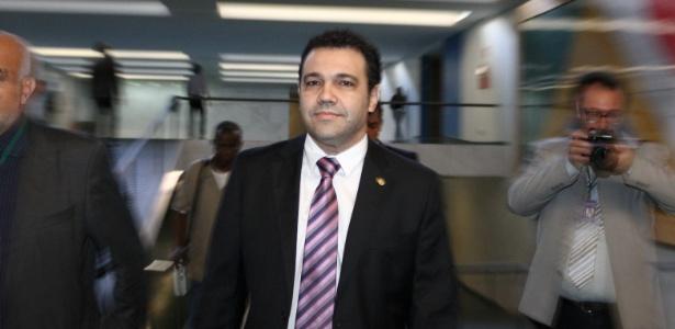 Deputado Marco Feliciano (no centro) foi mantido na Presidência da Comissão de Direitos Humanos e Minorias da Câmara - Andre Borges/FolhaPress
