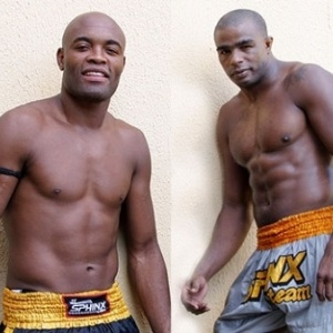 Anderson Silva e Pelé Landi
