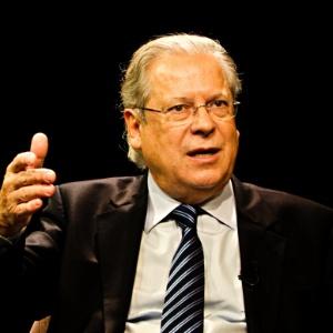 José Dirceu durante entrevista em abril deste ano; o ex-ministro teve seus recursos negados pelo STF - Marlene Bergamo 9.abr.2013/Folhapress