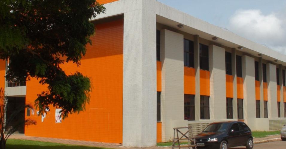 No campus Tapajós da Ufopa está o único prédio novo que os alunos dizem ter recebido em boas condições de uso