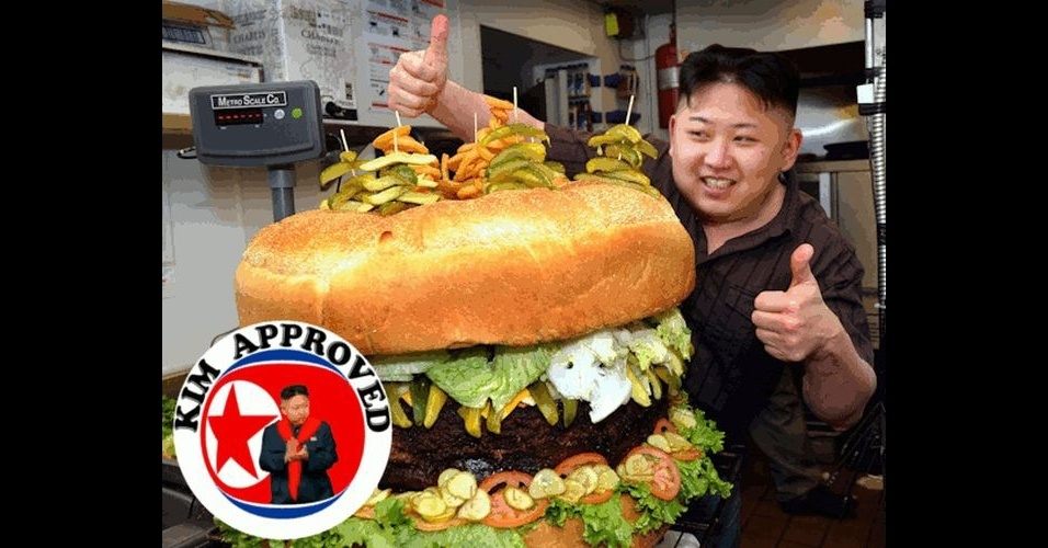 O líder da Coreia do Norte, Kim Jong-Un, ganhou notoriedade mundial com declarações polêmicas e virou piada na web