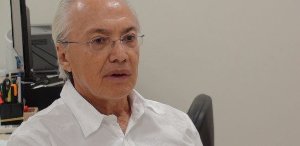 O reitor pro tempore José Seixas Lourenço está no cargo desde a criação da universidade