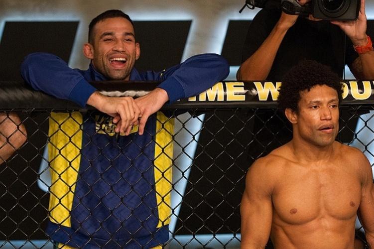 Tiago Alves se prepara para lutar, representando o time Werdum no TUF Brasil 2
