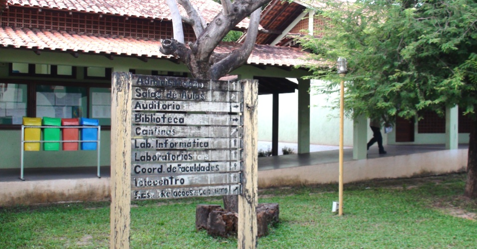 Um dos campus da Ufopa foi herdado da UFPA (Universidade Federal do Pará), ali estão concentrados os cursos de licenciatura integrada da universidade