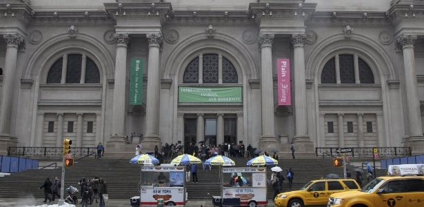 Fachada do Metropolitan Museum of Art em Nova York, nos Estados Unidos - AP Photo/Mary Altaffer, File