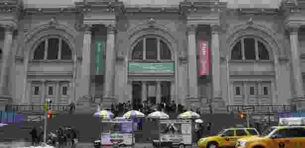 Fachada do Metropolitan Museum of Art em Nova York, nos Estados Unidos - AP Photo/Mary Altaffer, File