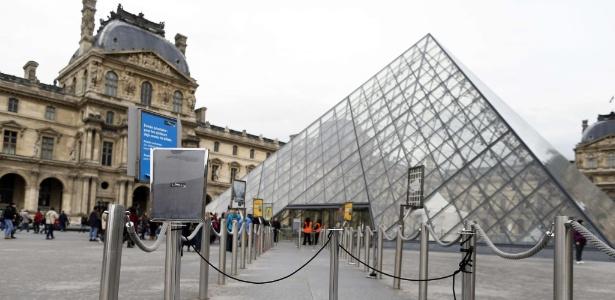 Com protesto de vigias, museu ficou fechado na quarta  - AFP