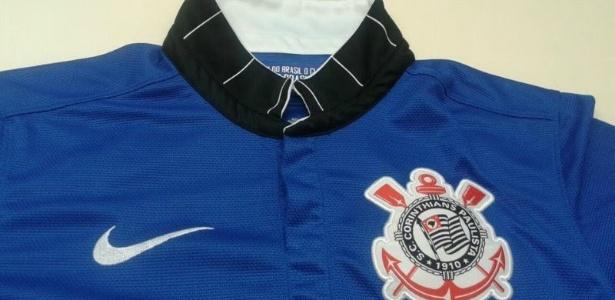 Corinthians terá terceiro uniforme azul  fotos do protótipo vazam na ... e515c36fb45c4