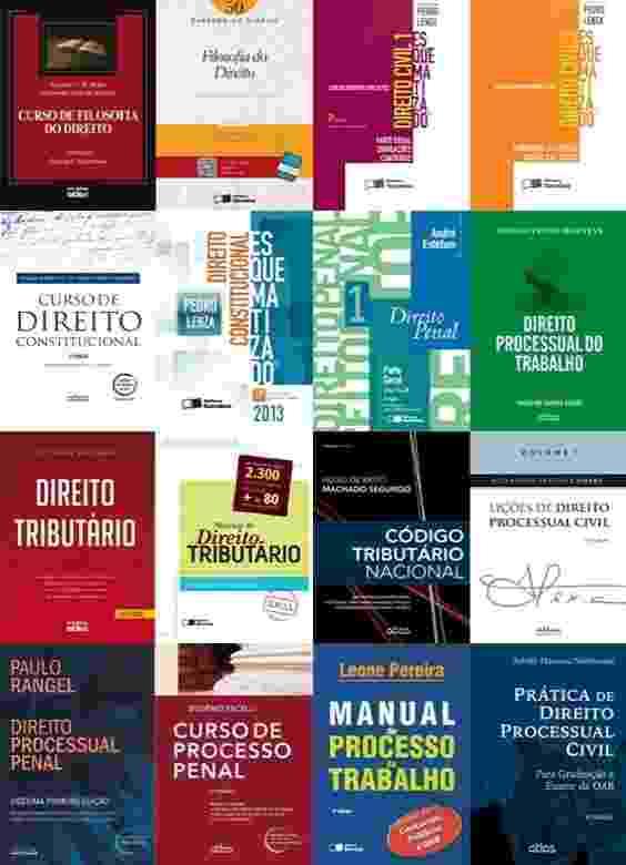 Lista de livros para o Exame da OAB - UOL