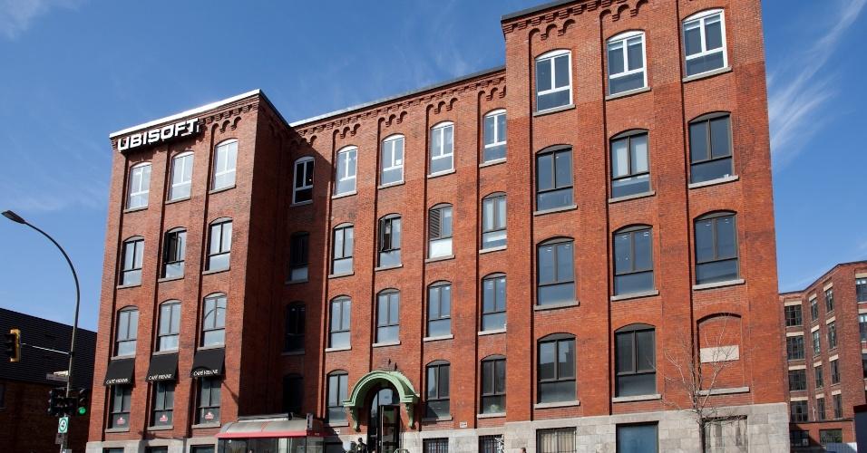 Prédio da Ubisoft em Montreal, estúdio fundado em 1997 e que atualmente possui mais de 2 mil funcionários