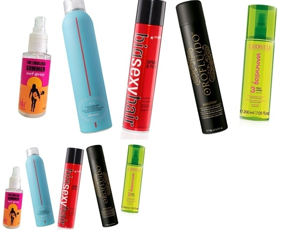 Sprays hair Brasil