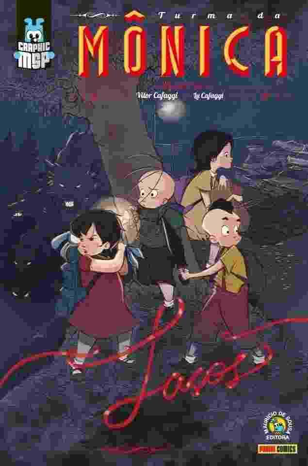"""""""Turma da Mônica - Laços"""", nova graphic novel da Turma da Mônica, obra escrita e desenhada por Vitor Cafaggi e Lu Cafaggi - Divulgação"""