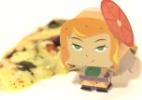 Aprenda a fazer a boneca 3D da princesa Marguerita, de Foodland