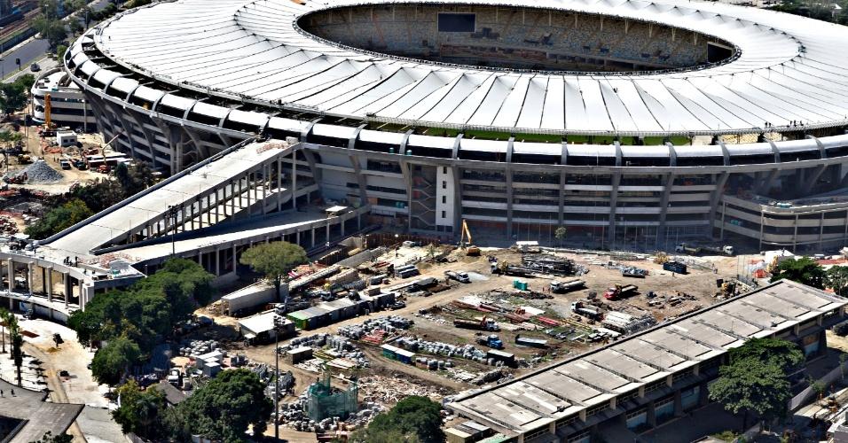 12.abr.2013 - Célio de Barros tinha uma das melhores pistas de atletismo do país