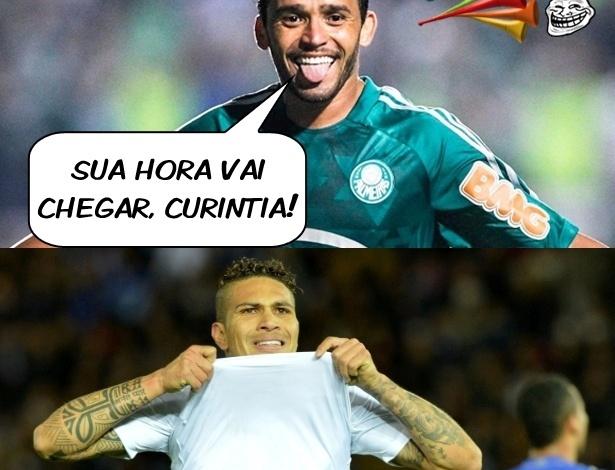 Corneta FC: Embalado, palmeirense já manda recado para corintianos