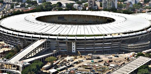 Reforma do Maracanã para a Copa do Mundo de 2014 deve terminar neste mês