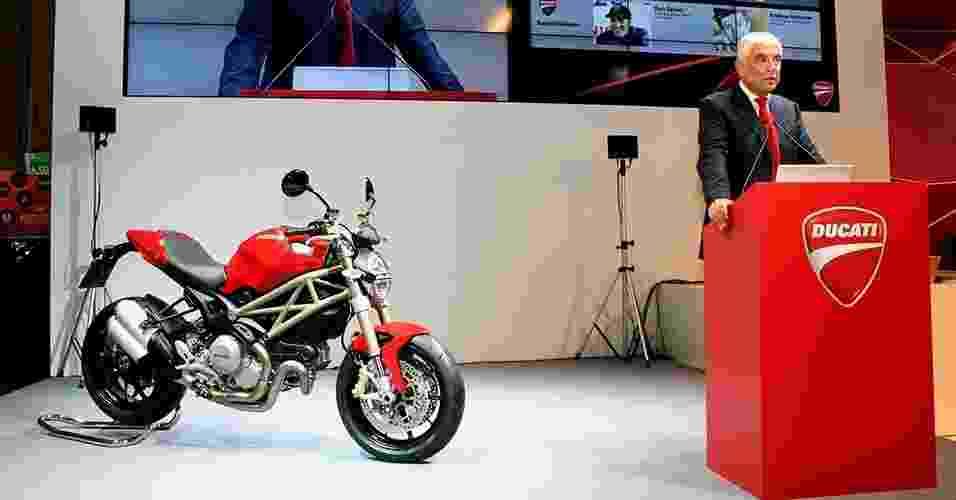 Gabriele Del Torchio, CEO da Ducati - Divulgação