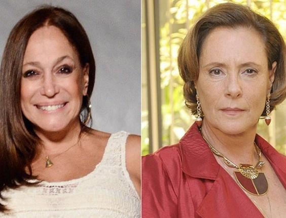 Para evitar brigas, Susana Vieira e Elizabeth Savalla não se cruzam nos bastidores da Globo