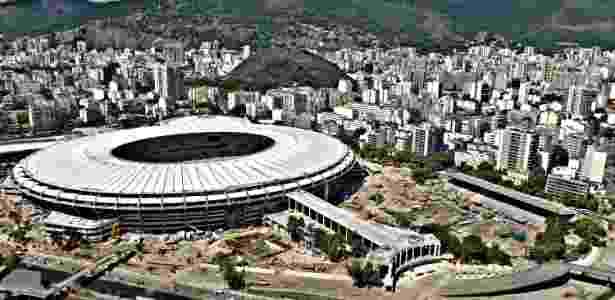 Estádio Célio de Barros poderá dar lugar a um shopping e um hotel no Maracanã - Júlio César Guimarães/UOL