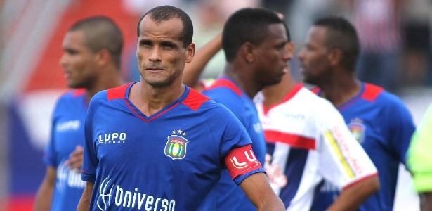 Rivaldo deixou o futebol no começo deste ano, aos 41 anos, após passagens por times pequenos