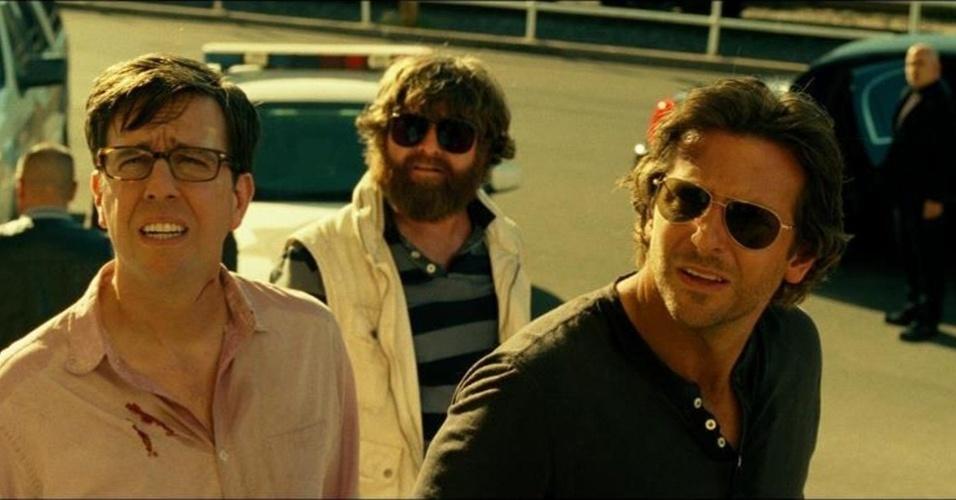 O Bando de Lobos de volta a Las Vegas, em cena do filme