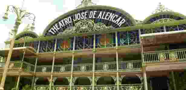 Theatro José de Alencar, em Fortaleza - Daniel Thompson/Arquivo pessoal - Daniel Thompson/Arquivo pessoal