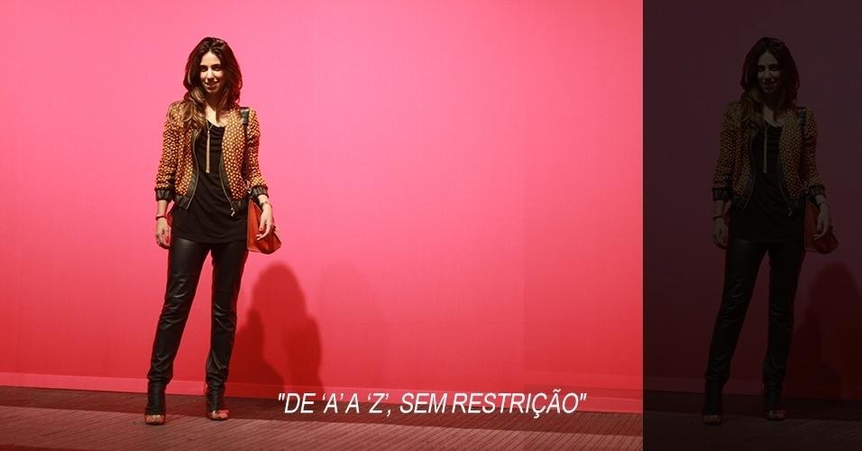 15 abr. 2013 - Luiza Sobral faz marketing voltado para moda e é blogueira. Seu look é todo da A. Brand e a bolsa, Céline
