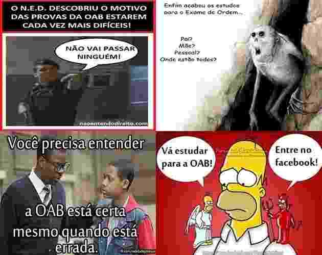 Capa - OAB, piada - Reprodução/Facebook
