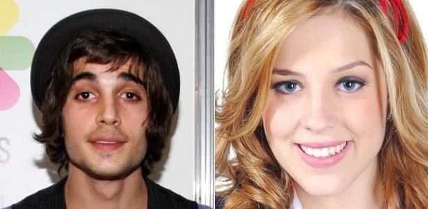 O ator e cantor Fiuk e a atriz Sophia Abrahão.