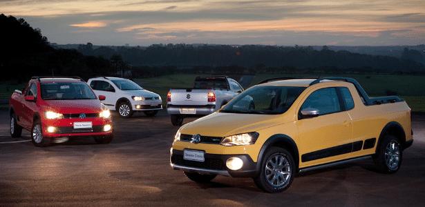 Frente concentra mudanças da Saveiro 2014, agora alinhada à família Volkswagen - Divulgação