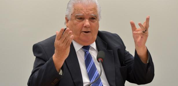 O ex-ministro da Ciência e Tecnologia Marco Antônio Raupp