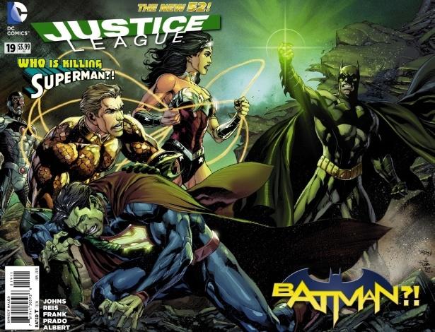"""Batman tenta matar Superman em nova HQ de """"Liga da Justiça"""" - Reprodução/DCComics"""