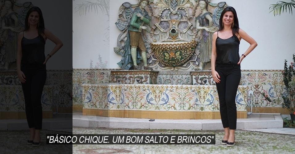 16 abr. 2013 - Beatriz Biolchini, 38, trabalha no mercado financeiro. Ela veste blusa e calças Prada e sapato Chanel