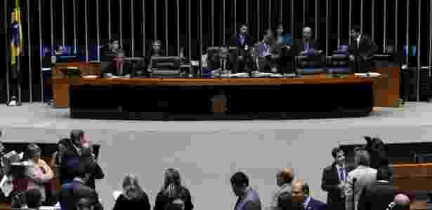 Sessão da Câmara que aprovou projeto que restringe a criação de partidos - Laycer Tomaz / Câmara dos Deputados