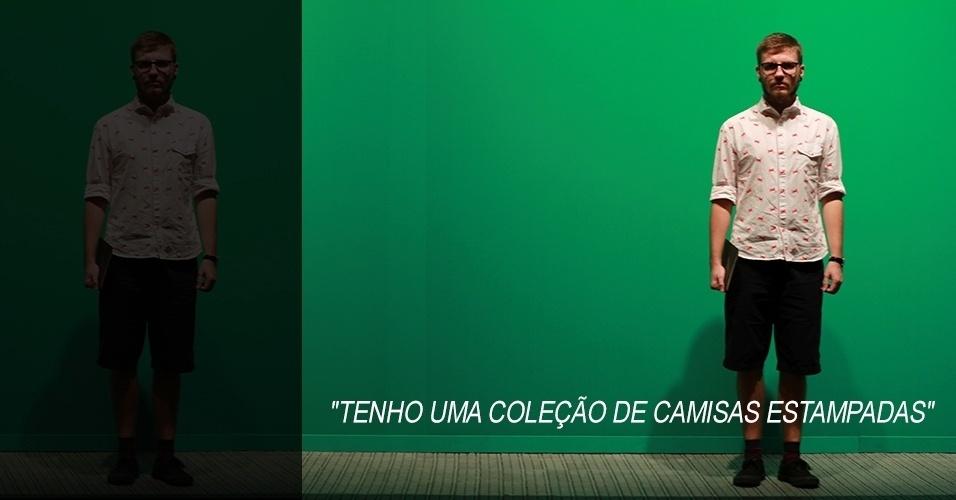 16 abr. 2013 - Hugo Correa, 23, faz pós-graduação de design de moda e veste camisa Der Metropol, shorts Toulon, tênis e meia da Redley
