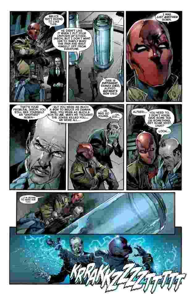 """Páginas internas mostram prévia da 19ª edição de """"Liga da Justiça"""" em quadrinhos - Divulgação/DC Comics"""